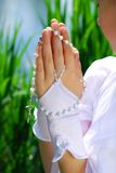 The first holy communion Stock Images