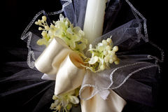 First Holy Communion candle Stock Photos