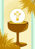 First Holy Communion. Illustration Vector Stock Photos