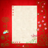 First Holy Communion invitation card Stock Photos
