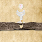First Holy Communion invitations Royalty Free Stock Images