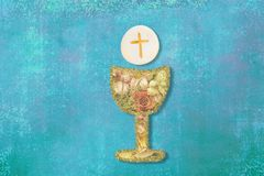 First Holy Communion invitations Royalty Free Stock Photography
