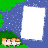 First Holy Communion photo frame Stock Photography