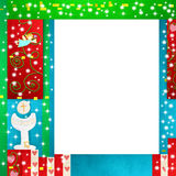 First Holy Communion photo frame Stock Photos