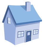 First home. A illustration of home symbol Royalty Free Stock Photography