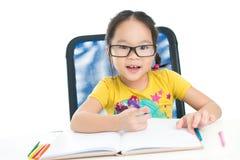 First homework Stock Photo