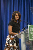 First lady Michelle Obama Stock Image