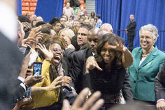 First lady Michelle Obama Royalty Free Stock Photo