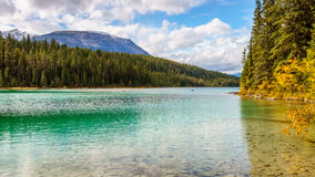 First Lake on the Valley of Five Lakes Trail Royalty Free Stock Photography