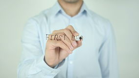 First Learn Then Earn, Writing On Transparent Screen stock footage