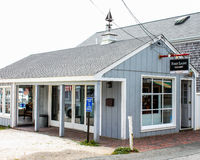 First Light Gallery, Provincetown, MA. Royalty Free Stock Images