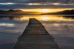 First light on Loch Lomond Stock Photo