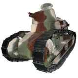 The first light tank Stock Photography