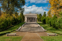 The First Lincoln Memorial. Building (1911) at Abraham Lincoln Birthplace National Historical Park in Hodgenville, Kentucky Stock Images