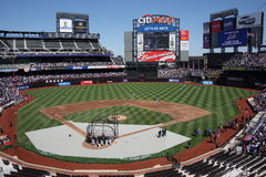First Look at Citi Field Stock Images