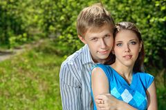 First love Royalty Free Stock Photography