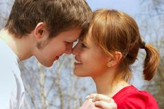 First love Stock Image