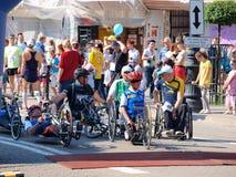 First Lublin Marathon, Lublin, Poland Royalty Free Stock Photo