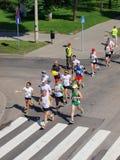 First Lublin Marathon, Lublin, Poland Stock Photos