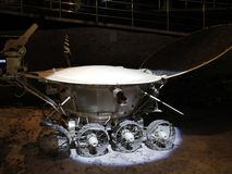 The first lunar rover. `Lunokhod-1`. The world`s first planet-carrier Stock Photo