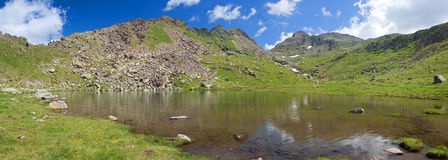 First Lusia lake Royalty Free Stock Image