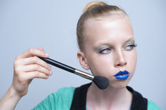 First Make-up Royalty Free Stock Photography