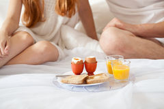 First meal of the day Stock Image