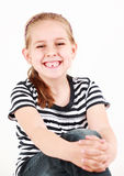 First missing tooth Royalty Free Stock Photos