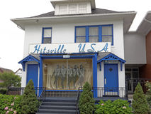 First Motown Headquarters. Detroit, MI, USA - July 31, 2014: The first Motown headquarters located in Detroit, Michigan. Motown is an American record company stock photos