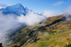 First Mountains , Switzerland Royalty Free Stock Photography