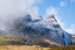 First Mountains , Switzerland. First Mountains Around Grindelwald, Switzerland Stock Photography