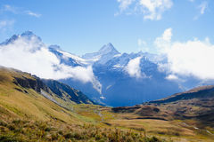 First Mountains , Switzerland Stock Photography