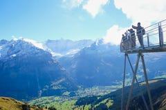First Mountains , Switzerland. First Mountains Around Grindelwald, Switzerland Royalty Free Stock Image