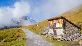 First Mountains Switzerland. First Mountains Around Grindelwald, Switzerland Stock Photography