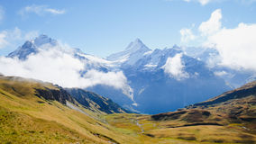 First Mountains Switzerland. First Mountains Around Grindelwald, Switzerland Royalty Free Stock Images
