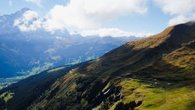 First Mountains Switzerland Stock Photography
