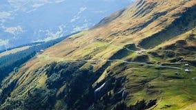 First Mountains Switzerland. First Mountains Around Grindelwald, Switzerland Royalty Free Stock Photos