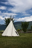 First nation tipi Stock Photo