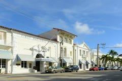 First National Bank, Palm Beach, Florida Stock Photos