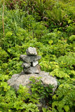 First nations inukshuk Royalty Free Stock Photography