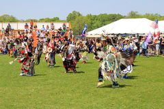 First nations people dance Royalty Free Stock Image