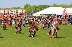 First nations people dance Royalty Free Stock Photo