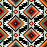 First nations seamless pattern Stock Image