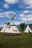 First Nations Tipi Stock Photography