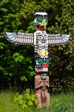 First Nations Totem Pole Royalty Free Stock Photos