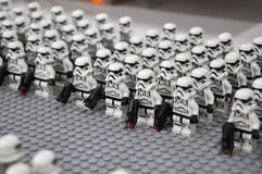 First Order Storm Troopers Army Action Figure Stock Photos