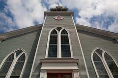 First Paris Church  church located in Sandwich city, Cape Cod, M Stock Photography