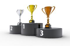 First place Royalty Free Stock Photos
