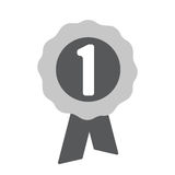 First place award icon. One of set web icons royalty free illustration