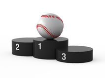 First place. Baseball. Stock Image